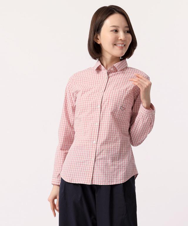 91135471c3ef 刺繍チェックシャツ - CROCODILE(クロコダイル) 公式通販サイト