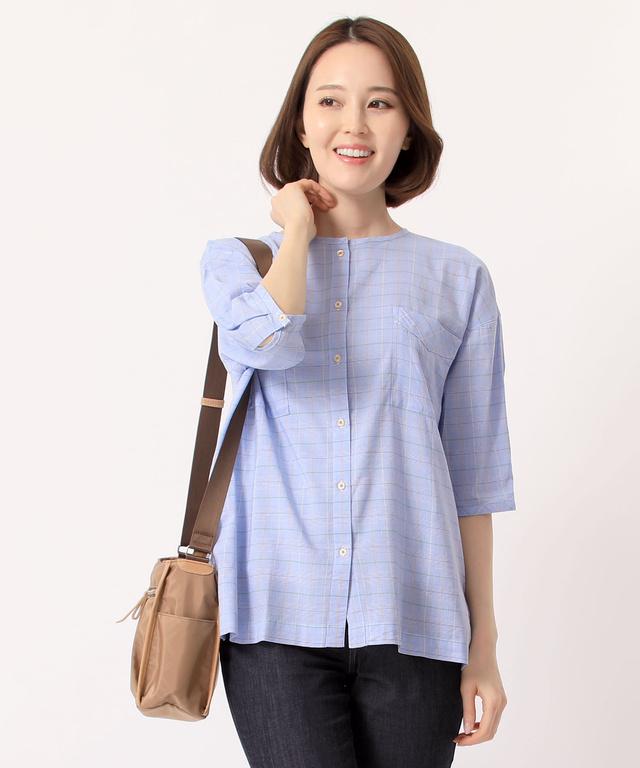 d13f64648f62 チェッククルーシャツ - CROCODILE(クロコダイル) 公式通販サイト
