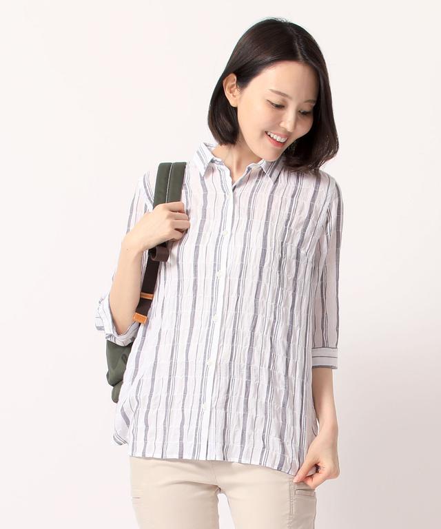 6fbc27aae6b1 部分パナマシャーリングシャツ - CROCODILE(クロコダイル) 公式通販サイト